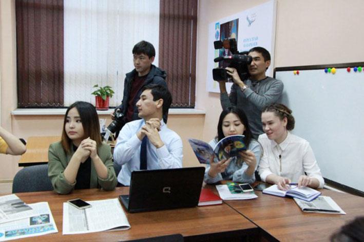 В Талдыкоргане открыли учебную мастерскую «Workshop»