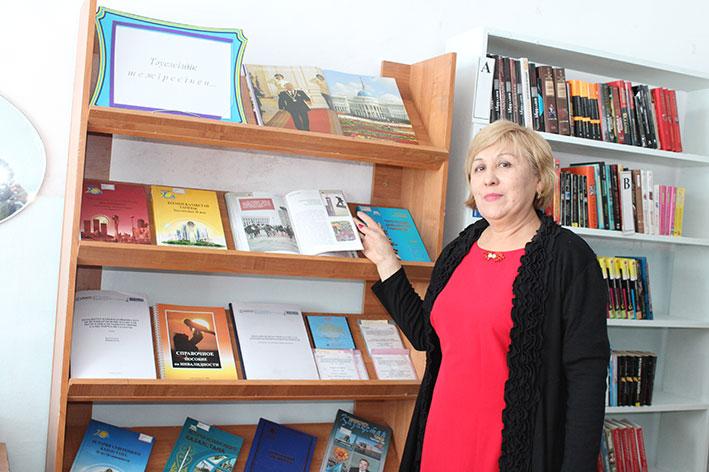 Незрячие читатели Талдыкоргана обслуживаются в областной библиотеке имени С. Сейфуллина