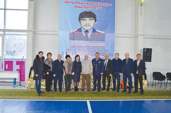 В Талдыкоргане прошел турнир по мини-футболу среди правоохранительных органов