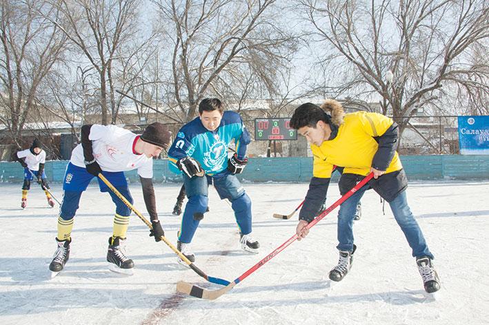 В Талдыкоргане прошел городской турнир по хоккею