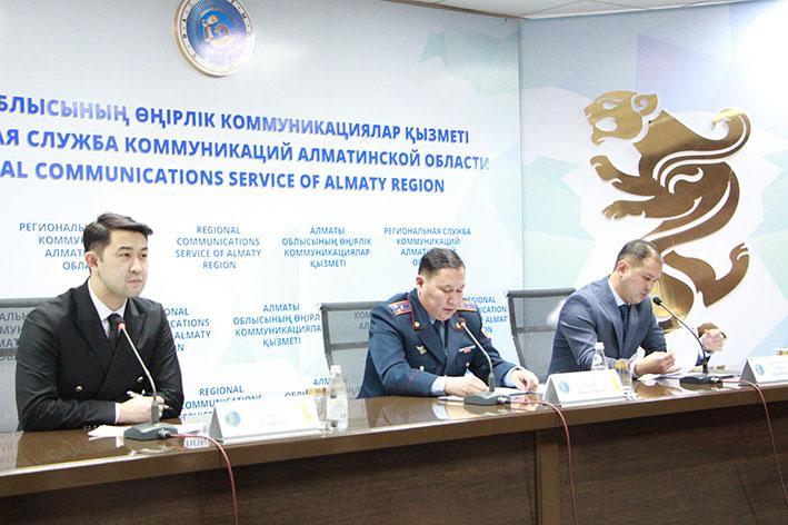 В Талдыкоргане состоялся брифинг департамента Агентства РК по делам государственной службы и противодействию коррупции