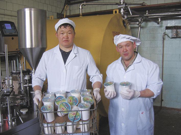 Молочная продукция айдыновцев