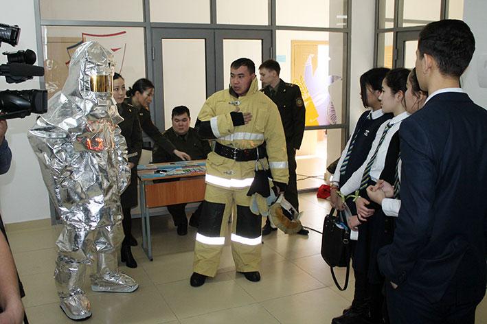 В Талдыкоргане состоялась первая серия игры «Люди Х – путешествие в мир профессий»