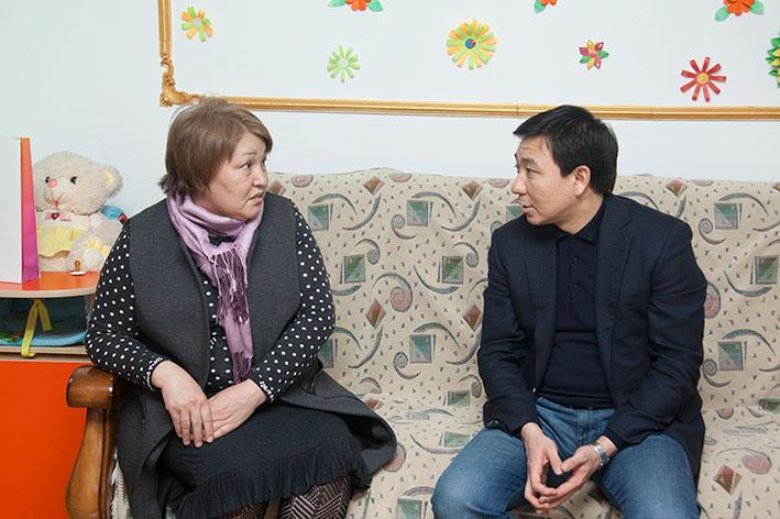 Дом мамы помогает талдыкорганским одиноким женщинам с детьми