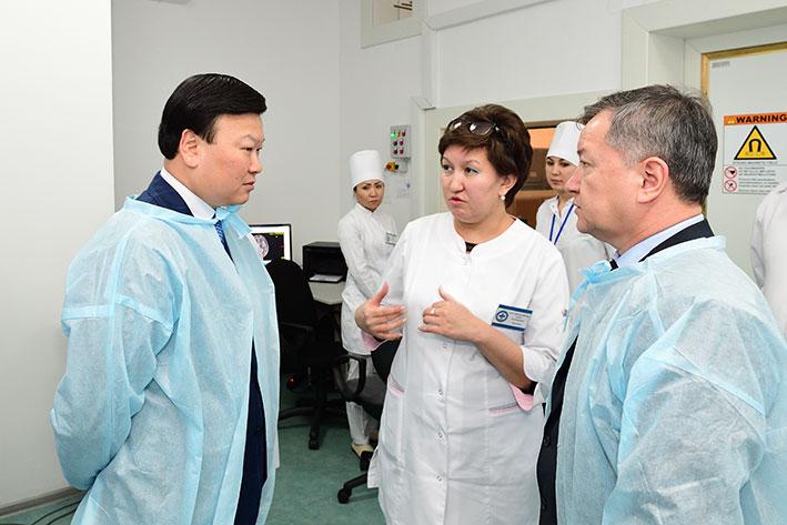 Здоровье казахстанцев – главный приоритет
