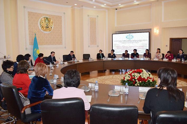 В Талдыкоргане состоялся форум трудящихся женщин