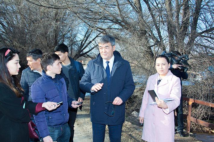 В Алматинской области продолжаются противопаводковые мероприятия