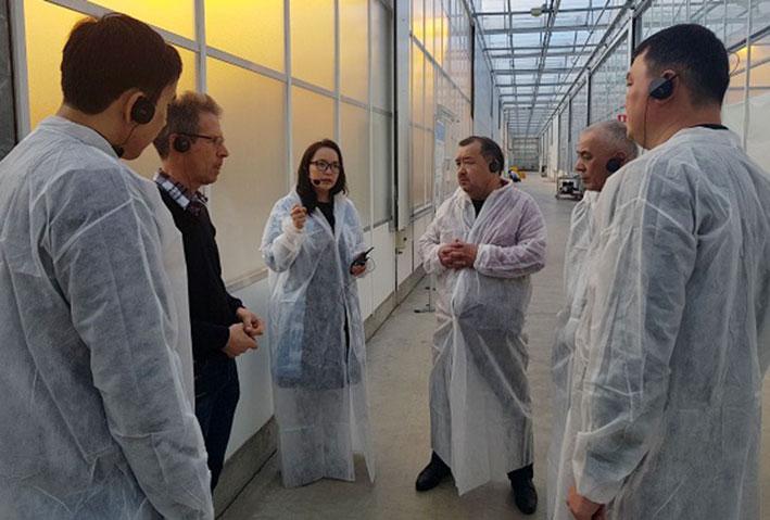 Технологии «умного» сельского хозяйства показали казахстанцам в Нидерландах