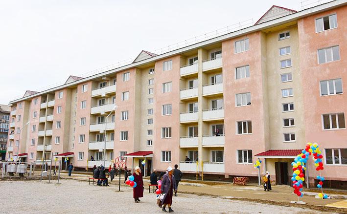 80 текелийских семей получили ключи от квартир