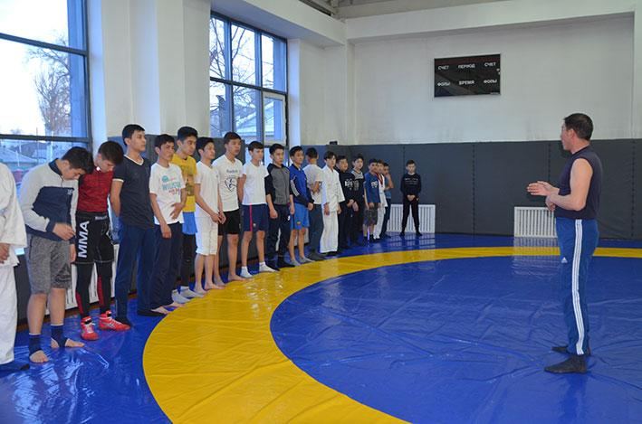 В Талдыкоргане открылся полицейский спорткомплекс для детей разных возрастов