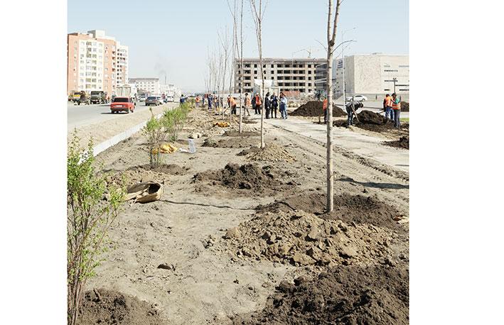 В Талдыкоргане прошла добровольная экологическая акция