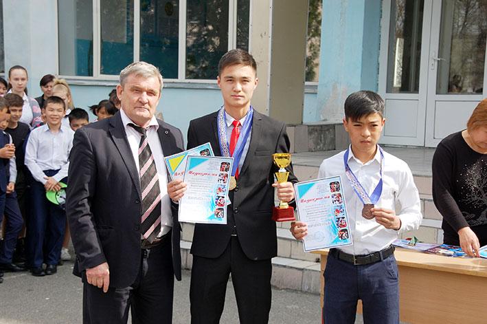В Талдыкоргане состоялась церемония чествования победителей и призеров соревнований различного ранга