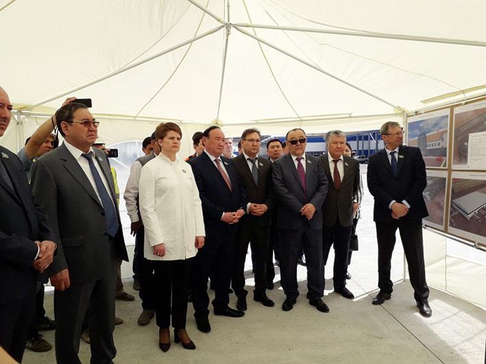 Панфиловский район посетили члены Комитета по финансам и бюджету Сената Парламента РК