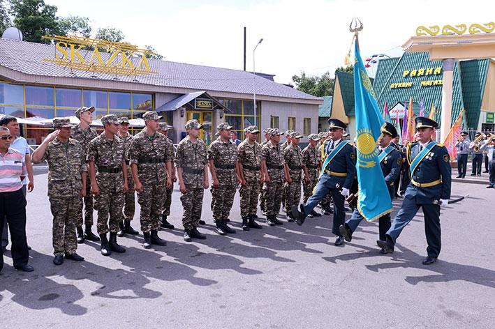 1800 призывников из Алматинской области пополнят ряды казахстанской армии