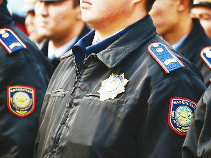 В Алматинской области задержан полицейский с героином