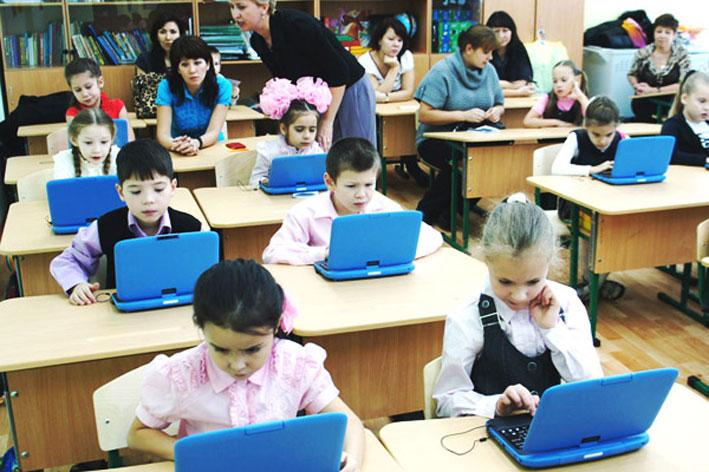 Почти 87% школ имеют доступ к сети Интернет