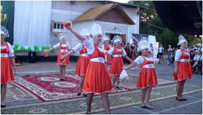 Праздник танца в Жаугашты