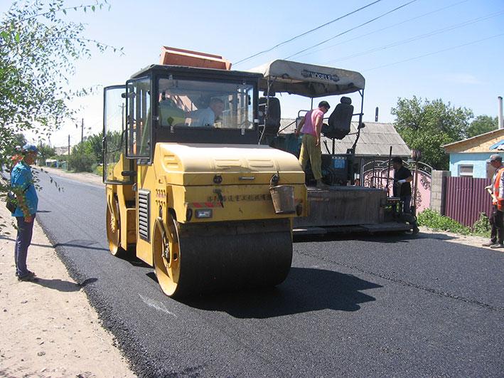 В Уштобе обновляются дороги