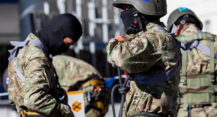 В Ескельдинском районе проходят антитеррористические учения