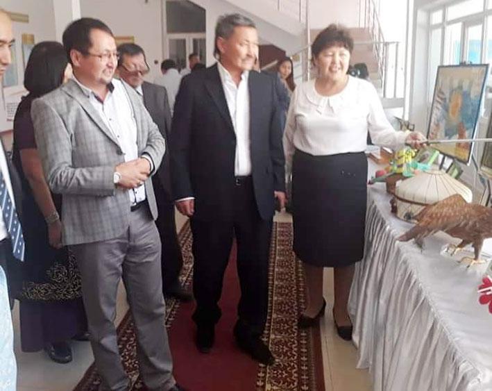 Панфиловский район посетили участники проекта «Рухани керуен».