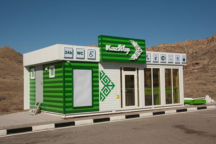 На трассе Алматы – Талдыкорган прошла рейдовая проверка придорожных туалетов