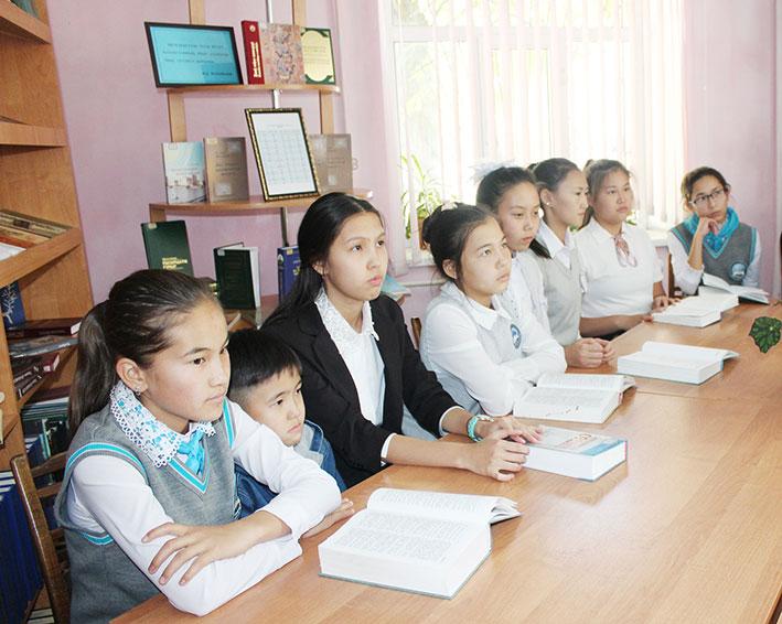 В Текели обсудили вопросы перехода на латиницу