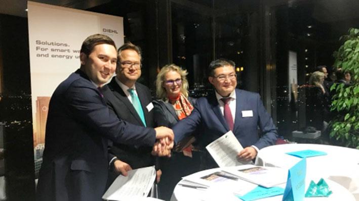 Казахстан будет внедрять цифровые технологии в ЖКХ совместно с Германией