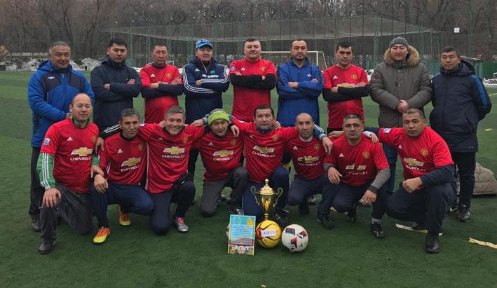 Алматинский гарнизон создал свою футбольную команду «А'SКЕR»