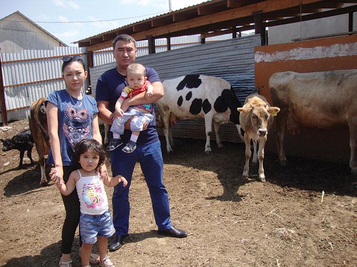 Семейный бизнес Куаныша и Айгуль