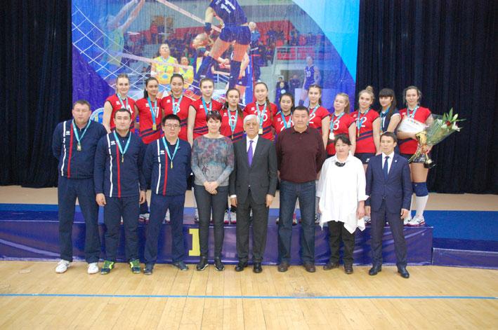 Волейболистки «Жетысу» выиграли зимний чемпионат Казахстана