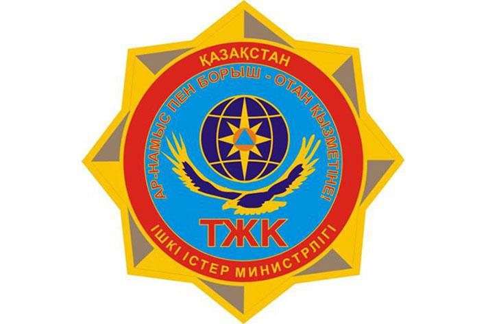Пожар в автосалоне «Nissan Финанс» Талгарского района Алматинской области