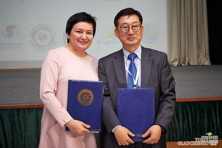 НИШ города Талдыкорган и Посольство Республики Корея подписали Меморандум о сотрудничестве