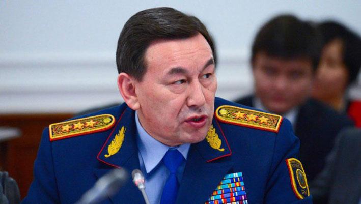 Касымов освобожден от должности министра внутренних дел