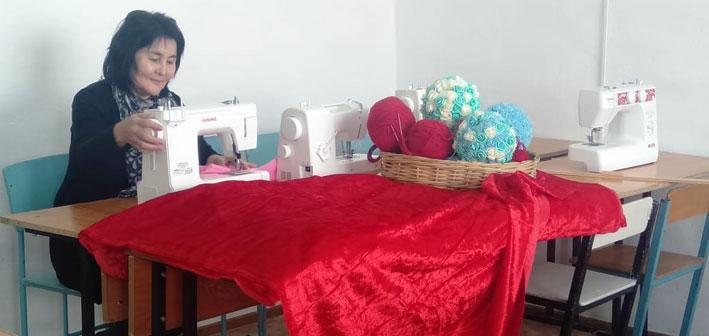 В Аксуском районе открылся образовательный учебный центр