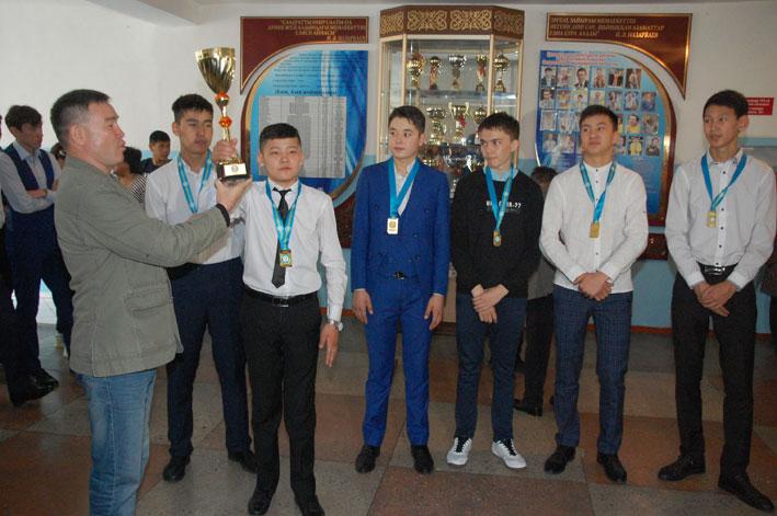 Талдыкорганцы чествовали чемпионов