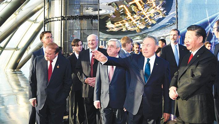 Нурсултан Назарбаев получил «Золотую медаль» за проведение ЭКСПО