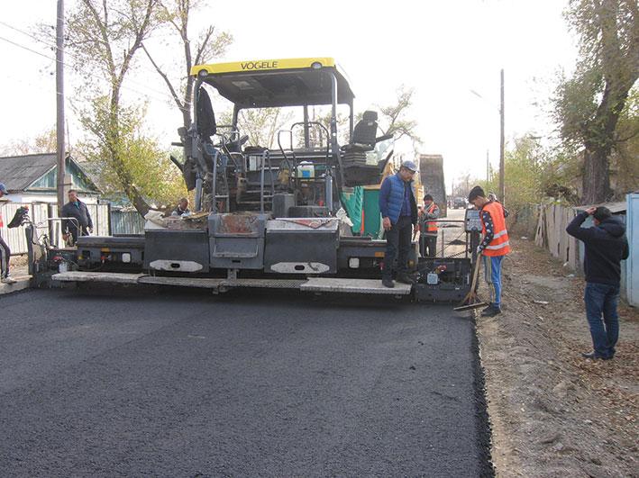 Люди рады ремонту дорог