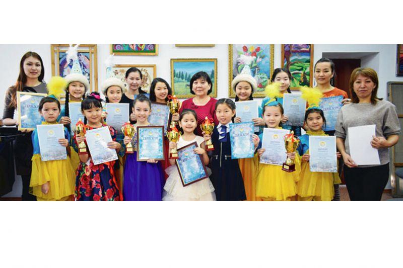 Юные таланты покорили Алматы